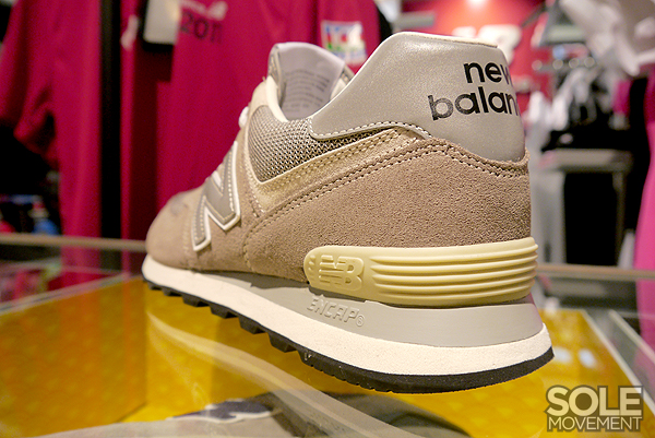 574 classic new balance brown