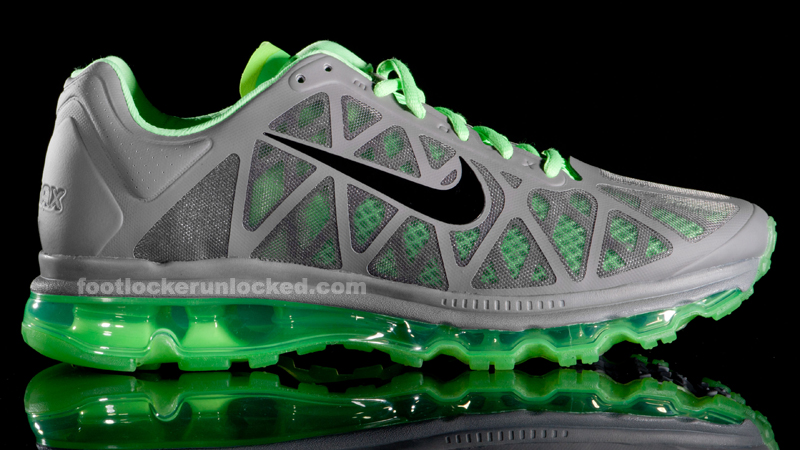 the best attitude 89fd6 53875 ... nike air max 2011 grey lime green ...